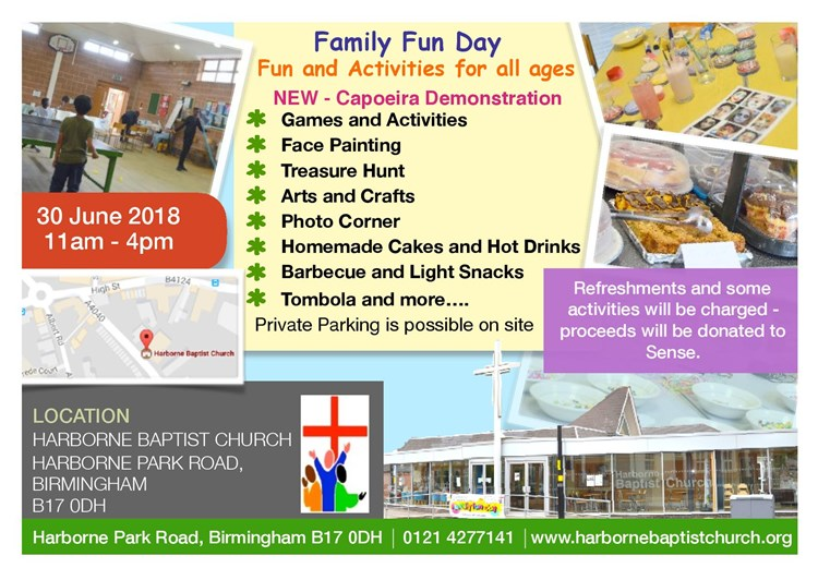 Family Fun Day Postcard 2018A6
